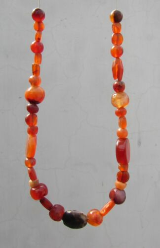 ANCIENT Carnelian PYU BEADS From Afghanistan
