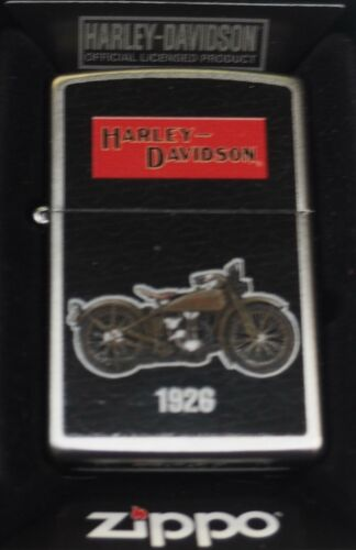 Special Edition Harley Davidson 1926 Motorcycle Zippo Lighter