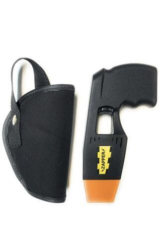 Zapper Toy Taser BLACK With Custom Holster