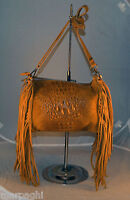 Borsa Vera Pelle Frange Donna Bag Leather Camel Stampa Coccodrillo Made Italia - camel - ebay.it