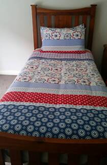 a single bed