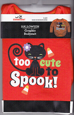 Halloween Long Sleeve Graphic Bodysuit