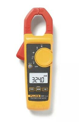 New Sealed Fluke 324 Plus Professional True Rms Digital 600-volt Clamp Meter