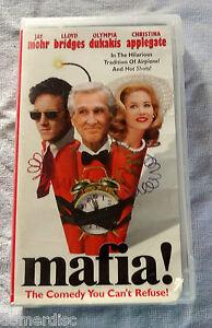 Mafia-VHS-Jim-Abrahams-Lloyd-Bridges-Olympia-Dukakis-Christina-Applegate-Funny