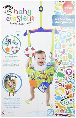 Baby Einstein Sea and Discover Door Jumper, Baby Door Bouncer 10235-WW