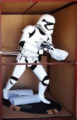r Wars Tfa First Order Stormtrooper Statue Figur Lebensgroß (Lebensgroße Stormtrooper)