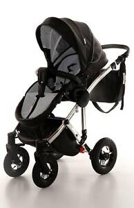 Pram , stroller, footmuff,umbrella - KOYO SPEED 2in1