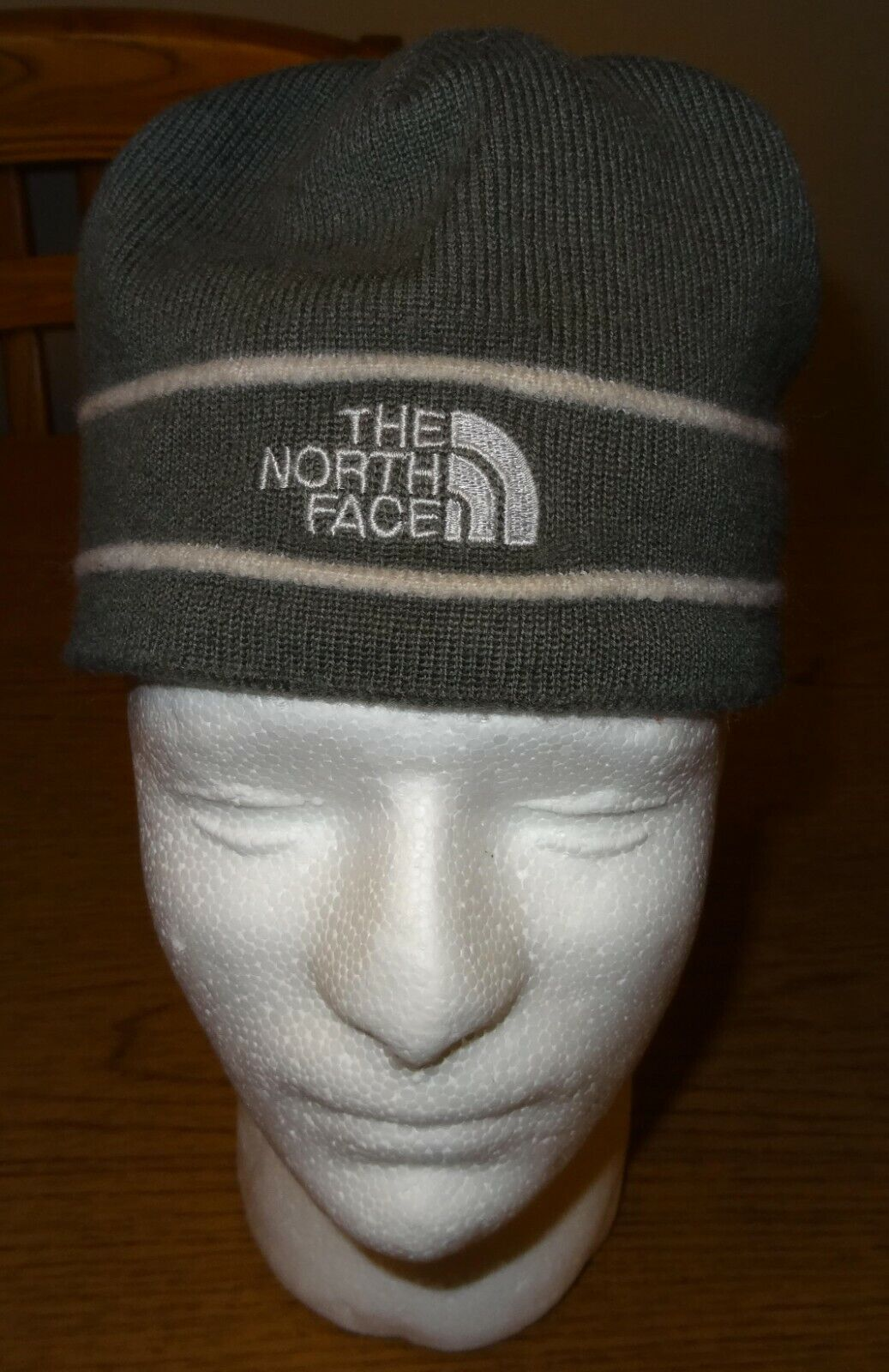 The North Face Beanie Knit - Greenish-Grey - Adult Unisex - One Size Fits All - $3.50