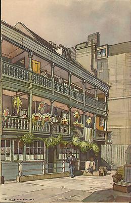 p & o - s.s. himalaya menu (  1951 ) the george inn southwark