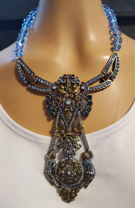 Heidi Daus Nouveau Dream Crystal Accented Necklace   Ret: $259.95