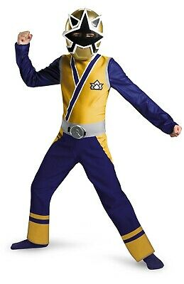 Power Rangers Samurai Halloween Costumes (New Saban's Power Rangers Samurai Gold Ranger Child Costume Large)