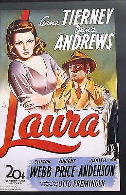 LAURA Oscar Academy Film Noir Program Tierney Andrews Webb Price Preminger 40s