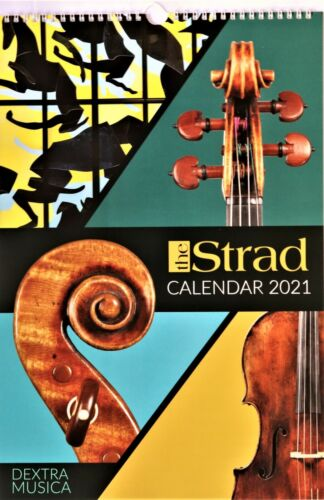 NEW ARRIVAL! THE STRAD CALENDAR, 2021, DEXTRA MUSICA COLLECTION