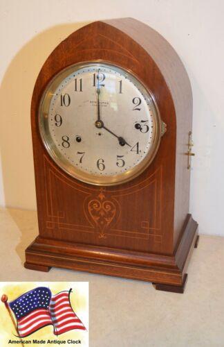RESTORED 8 BELL RARE & GRAND ANTIQUE SETH THOMAS SONORA CHIME CLOCK NO. 266-1909