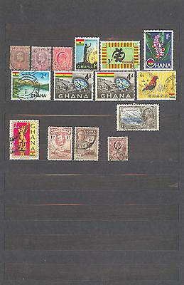 Briefmarken Ghana