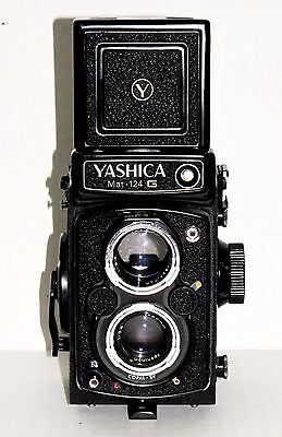 Yashica Mat 124 G COPAL SV(TLR) Medium Format Vintage Film Camera With 80mm Lens