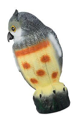 Bird Blinder Scarecrow Fake Owl Decoy - Pest Repellent Garden Protector - La... - $33.99