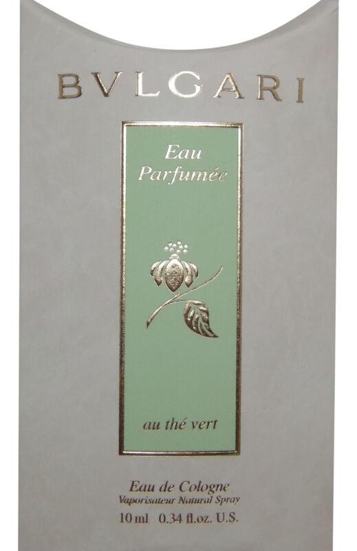 Bvlgari Eau Parfumee au the vert (Green Tea) Eau de Cologne 10ml