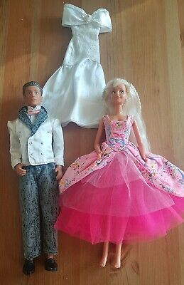 "Hasbro 90s vintage ""Magic eyes"" Sindy doll & prom boyfriend Paul. Collectables"