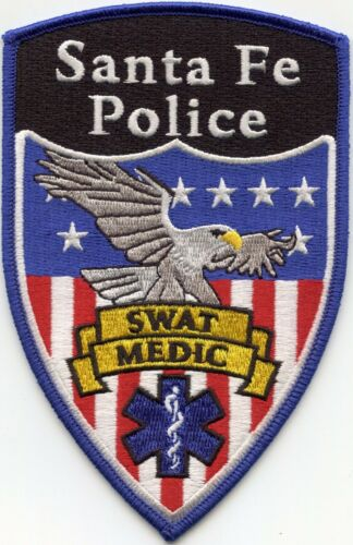 SANTA FE NEW MEXICO NM colorful SWAT MEDIC POLICE PATCH