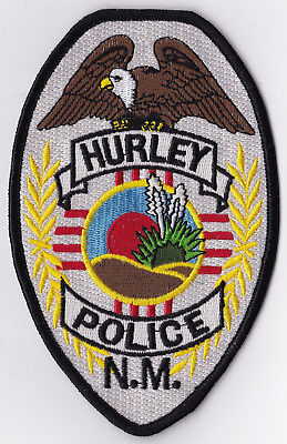 Hurley Police New Mexico Police patch