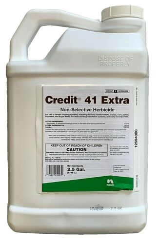 Credit 41 Extra Herbicide - with Surfactant- 2.5 Gallons (41% Glyphosate)