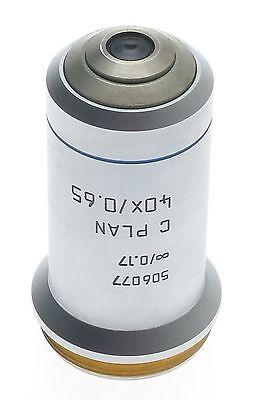 C Plan 40x0.65 Objective Lens Excellent 506077 Leica Dm Laboratory Microscope