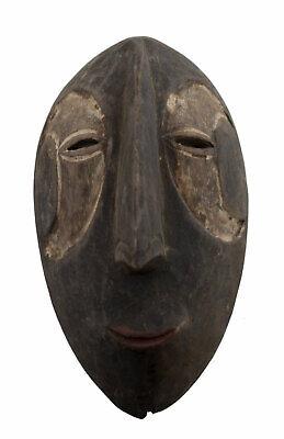 Masquette Mask Pasport African Igbo Abogho Mmwo 15cm Art First