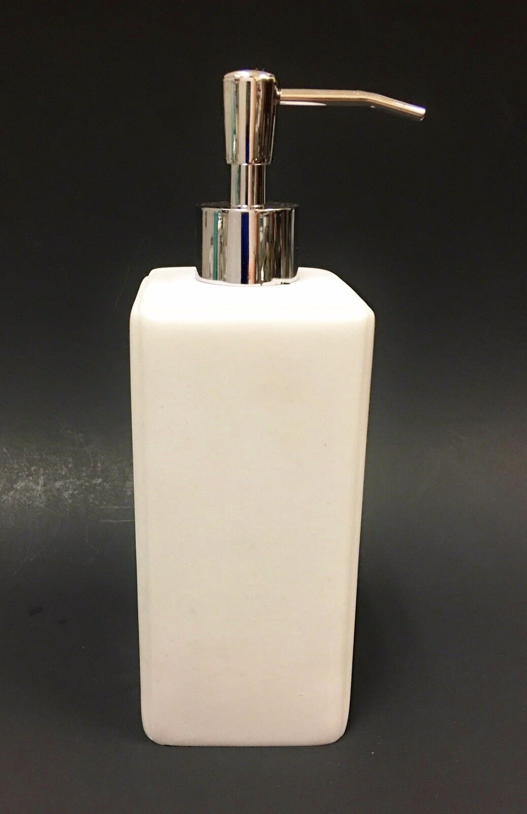 Dkny Bathroom Accessories Dkny White Resin Onyx Look Bathroomkitchen Soaplotion Dispenser