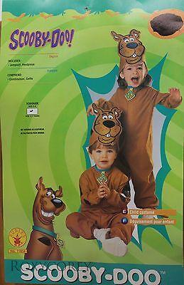 Halloween Toddler Scooby Doo Jumpsuit & Headpiece Costume & Treat Bag Size - Halloween Costumes Toddlers
