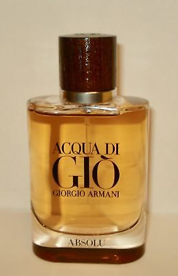 Giorgio Armani Acqua Di Gio Absolu 1.35 oz /40 ml Eau De Toilette for Man New