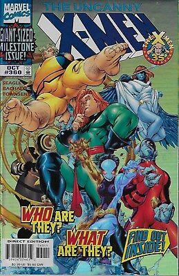 The Uncanny X-Men (Vol.1) No.360 / 1998 Foil Cover Steve Seagle & Chris Bachalo