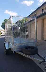 $20 daily high Cage trailer with trolley hire rental Kallangur Pine Rivers Area Preview