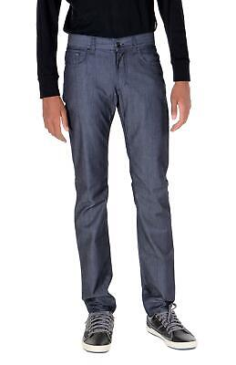 Versace Collection Mens Slimfit Jeans Dark Blue