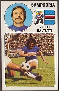 CALCIATORI PANINI 1976/77 263 SAMPDORIA - NELLO SALTUTTI NEW - Italia - RESTITUZIONE ACCETTATA PER PALESE ERRORE NELLA DESCRIZIONE DELL'OGGETTO. PER ALTRI MOTIVI SI RIMBORSA SOLO IL COSTO DELL'OGGETTO STESSO E NON DELLA SPEDIZIONE. - Italia
