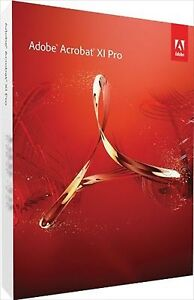 Adobe Acrobat XI Pro Professional for Mac Full Version