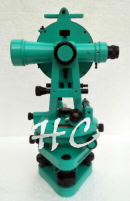 Vintage 15 Large Brass Optical Surveyors Theodolite Transit Surveying Alidade