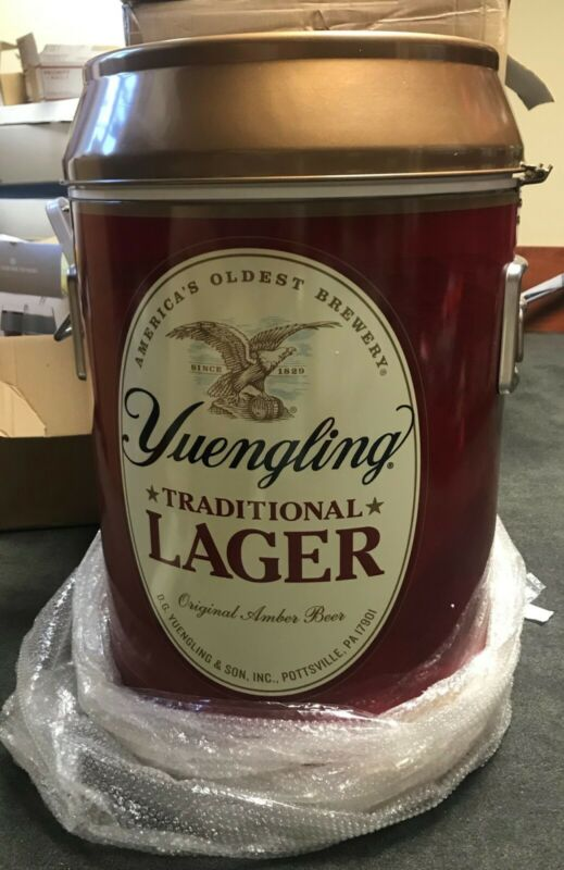 13 Gallon Yuengling Cooler-Can