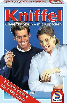SCHMIDT 49039 - 3 KNIFFELBLÖCKE, FÜR 1440 SPIELE, KNIFFELBLOCK, NEU/OVP online kaufen