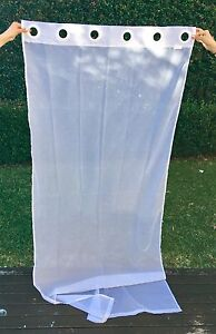 4 x White Curtains (2 Sets) St Ives Ku-ring-gai Area Preview