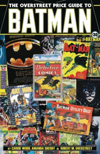 OVERSTREET COMIC BOOK PRICE GUIDE TO BATMAN TPB TRADE PAPERBACK 2019