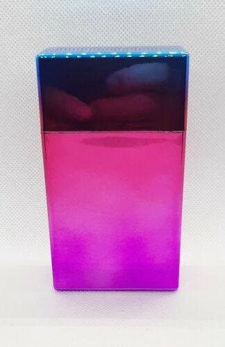 Fujima Plastic Anodized Multi Color Push To Open 100s Size Cigarette Case