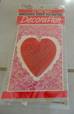 New In Package Vintage Valentine Decoration Eureka Red 10