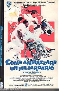 Come ammazzare un miliardario e morire dal ridere (1987) VHS W.B. 1a Ed. - RARA - Italia - L'oggetto può essere restituito - Italia