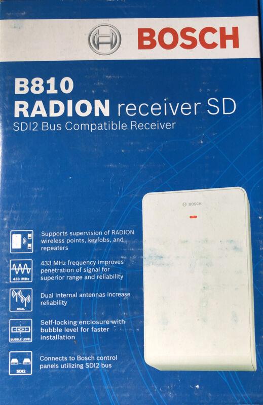 V3.01 NEW BOSCH B810  RADION RECEIVER SDI2 NEW