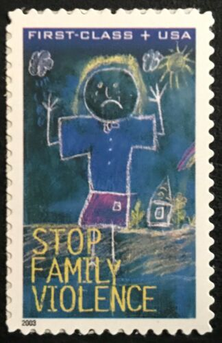 2003 Scott #B3 - 37¢ + 8¢ - DOMESTIC VIOLENCE - Single Stamp - Mint NH