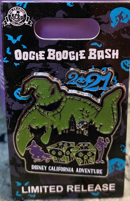 Disney Disneyland Oogie Boogie Bash 2021 LR Logo Pin