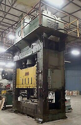 660-ton Clearing S4-650-108-64 Straight Side Press