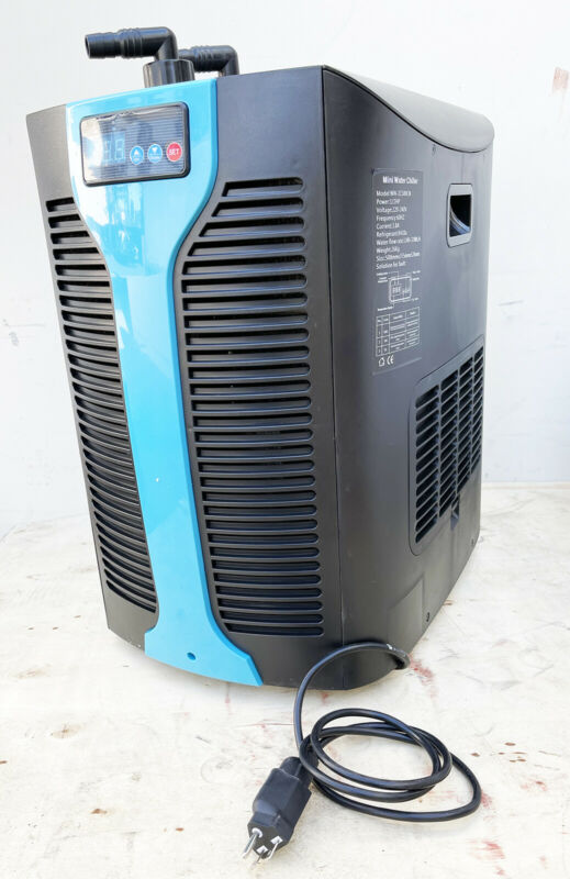 1/2 HP Water Chiller Refrigeration Unit for Hydroponic Fish Tank 53-185 Gallon