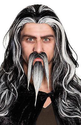 Spitzbart Bart mit Zauberer Schnurrbart Kaiser Gesichtsbehaarung Maskenkostüm